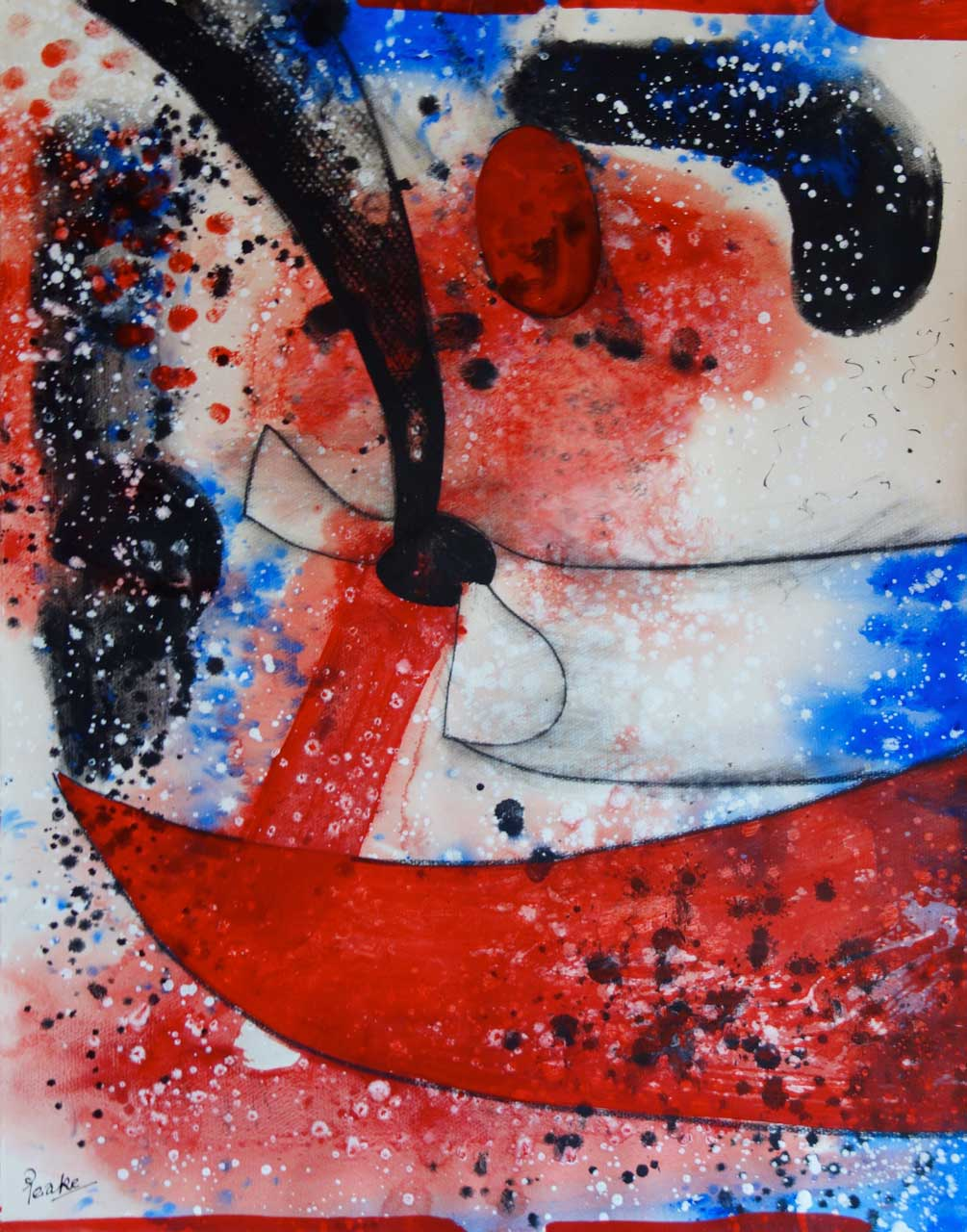 Channig Peake - Abstraction 1976