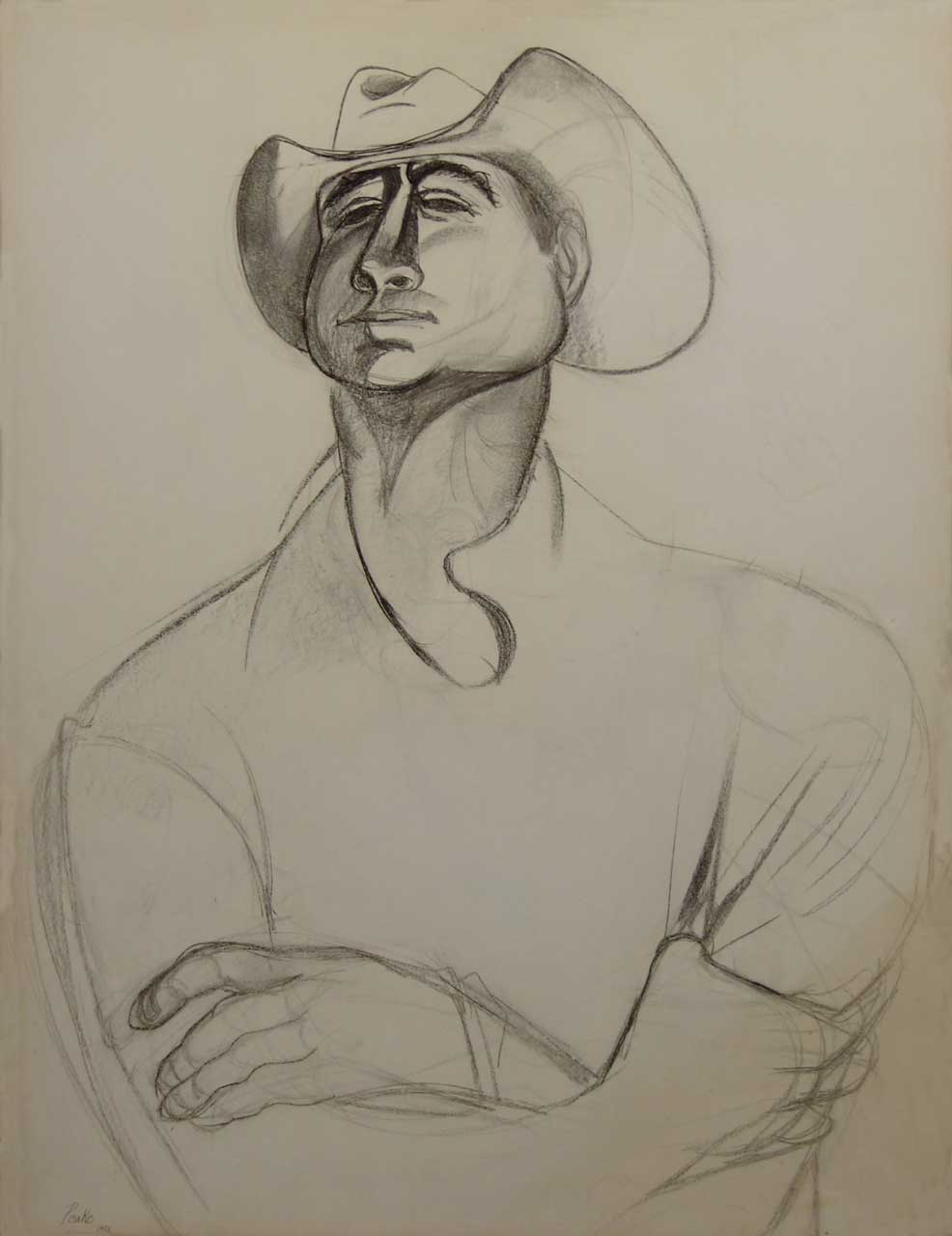 Channig Peake - Self Portrait 1950:51